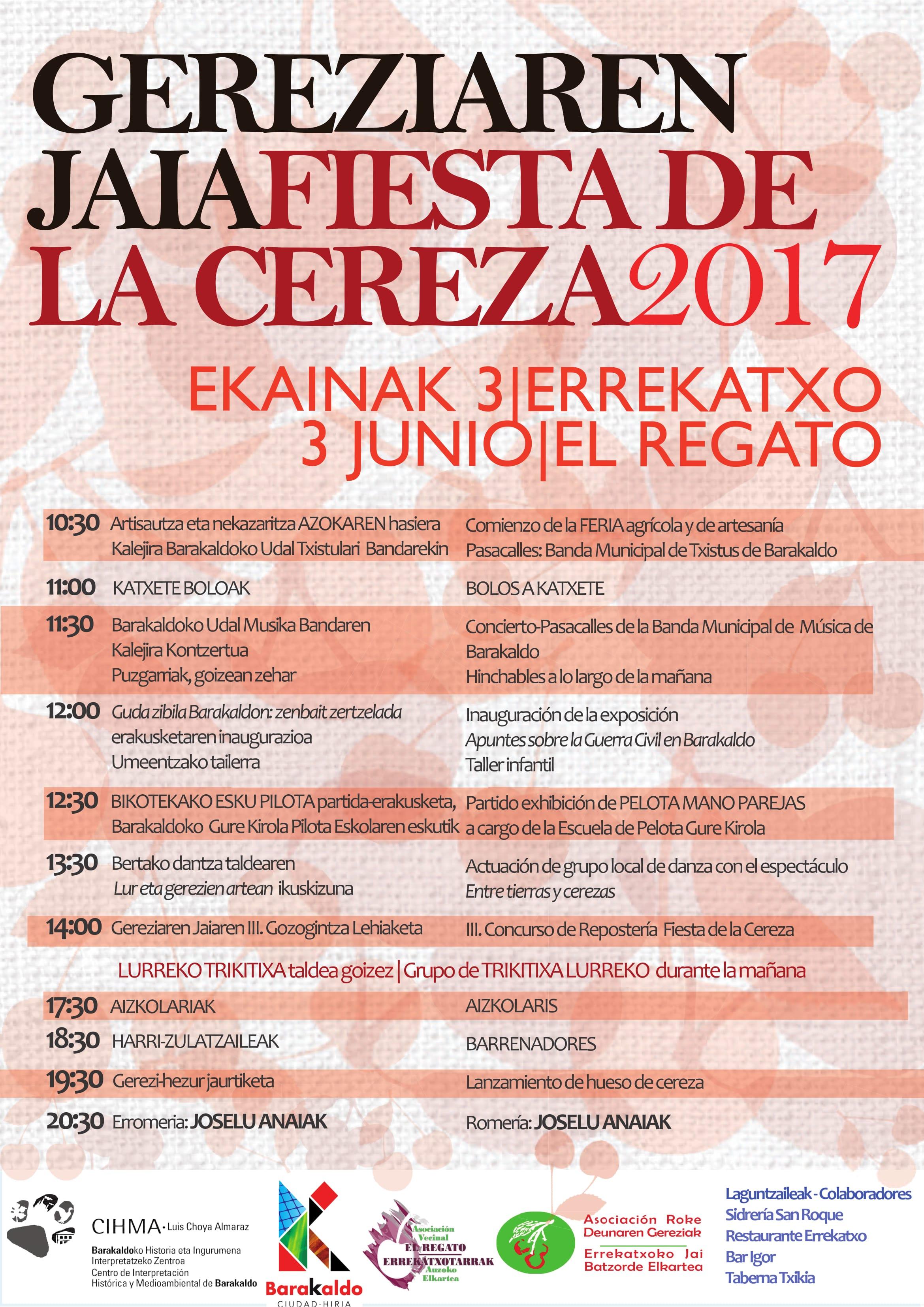 Programa Fiesta de La Cereza